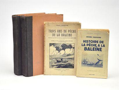 BALEINES  Réunion de 3 publications : CHAYÉ...
