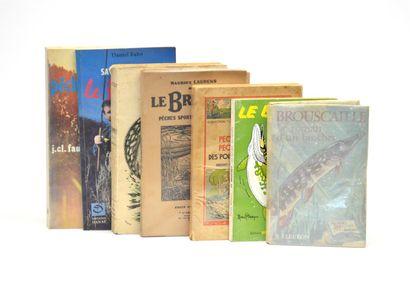 BROCHET  Réunion de 7 volumes brochés sur...