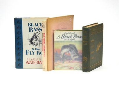 BLACK-BASS  Réunion de 6 volumes sur le sujet...