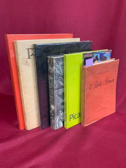 ELUARD Paul, A Pablo Picasso, Ed. Trois Collines,...
