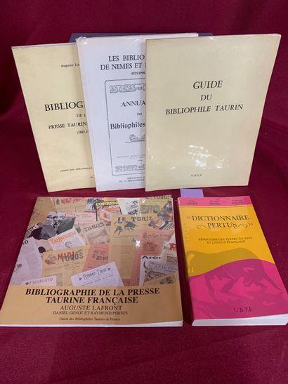ENSEMBLE DE PUBLICATIONS UBFT  MILHE Serge,...