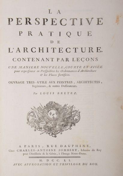Architecture  BRETEZ (Louis)  La Perspective...
