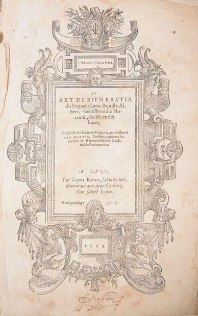 Architecture  ALBERT (Léon Baptiste)  L'Architecture...