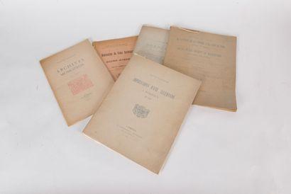 Envoi à Ernest Labadie - Exemplaire sur Japon...