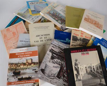 BASSIN d'ARCACHON  Un petit lot d'ouvrages...