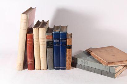 [BEAUX-ARTS]  Réunion d'ouvrages sur les...