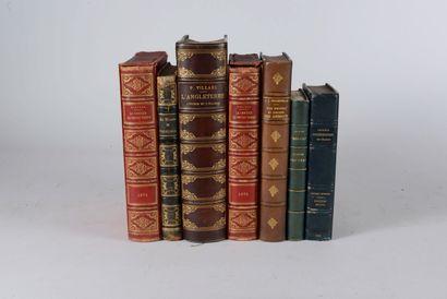 VARIA  Réunion d'ouvrages : - VILLARS (Pierre)...