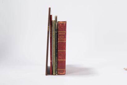 BORDEAUX  Réunion de 5 ouvrages : BERNADAU...