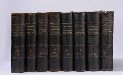 LAROUSSE (Pierre)  Grand Dictionnaire universel...
