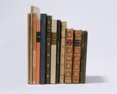VARIA  Réunion de 11 ouvrages : - Les Chansons...