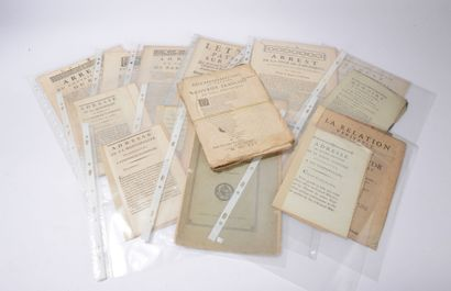 Documents imprimés  BORDEAUX  Réunion de...