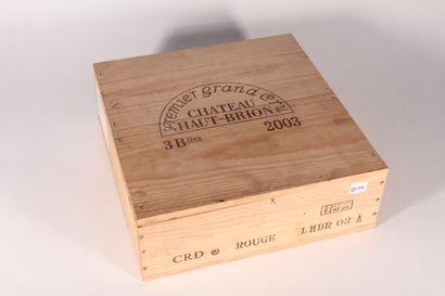 2003 - Château Haut Brion  Pessac-Léognan...