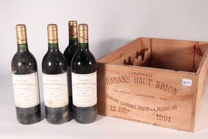 1991 - Bahans Haut Brion  Pessac-Léognan...