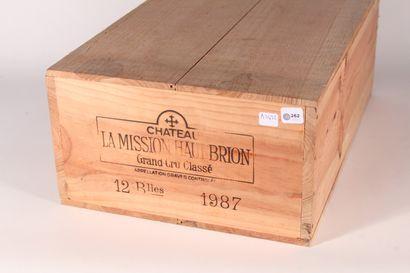 1987 - Château La Mission Haut Brion  Pessac-Léognan...