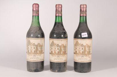 1980 - Château Haut-Brion  Pessac-Léognan...
