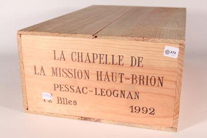 1992 - La Chapelle de la Mission Haut Brion...