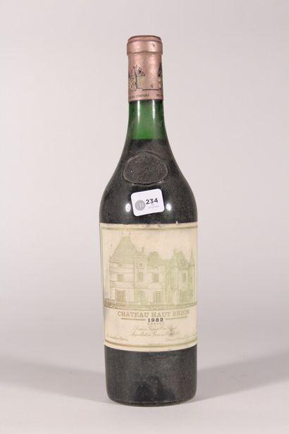 1982 - Château Haut-Brion  Pessac-Léognan...
