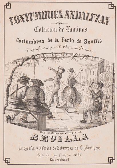 CHAMAN (Antonio D.)  Costumbres Andaluzas....