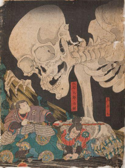 UTAGAWA KUNIYOSHI  Japon, fin du XIXème siècle....