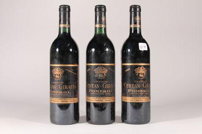 1988 - Château Certan Guiraud  Pomerol Rouge...