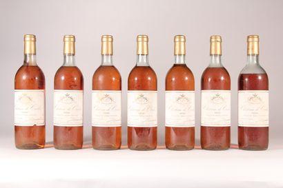 1986 - Château Carles Barsac  Sauternes Blanc...