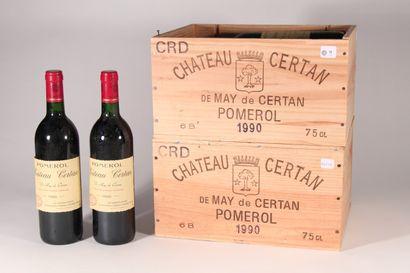 1990 - Château May de Certan  Pomerol Rouge...