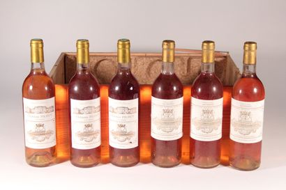 1982 - Château Filhot  Sauternes Blanc -...