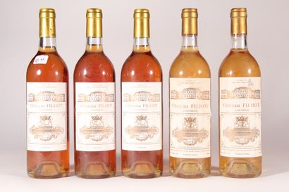 1987 - Château Filhot  Sauternes Blanc -...