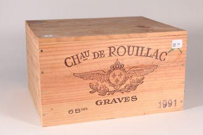 1991 - Château de Rouillac  Pessac-Léognan...