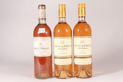 2003 - Château de Fargues  Sauternes Blanc...