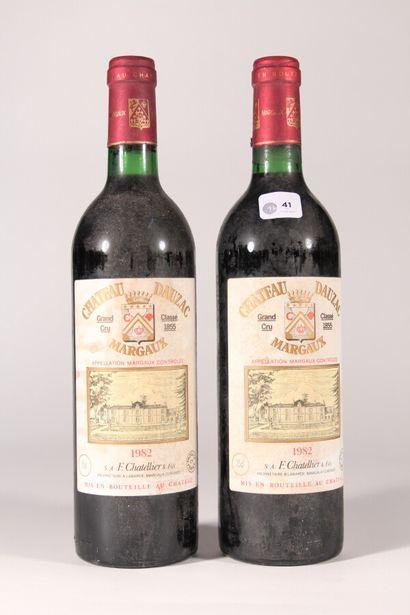 1982 - Château Dauzac  Margaux Rouge - 2...