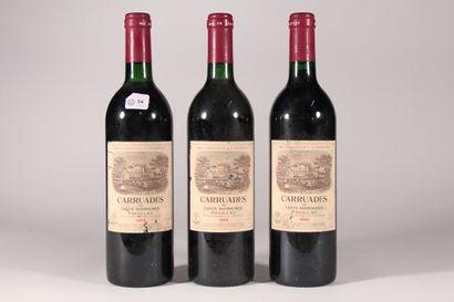 1988 - Carruades Lafitte Rothschild  Pauillac...