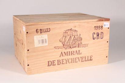 1988 - Amiral de Beychevelle  Saint-Julien...