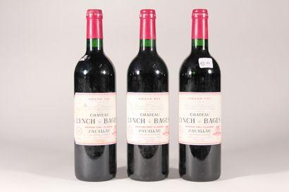 1996 - Château Lynch Bages  Pauillac Rouge...