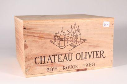1988 - Château Olivier  Pessac-Léognan Rouge...