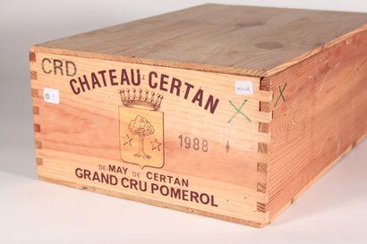 1988 - Château May de Certan  Pomerol Rouge...