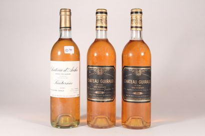 1986 - Château Guiraud  Sauternes Blanc -...