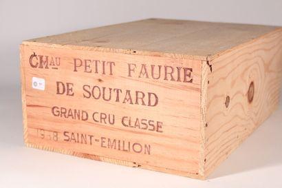 1988 - Château Petite Faurie de Soutard  Saint-Émilion...