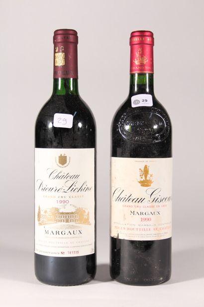 1990 - Château Giscours  Margaux Rouge -...