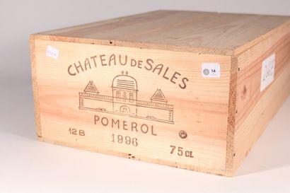 1996 - Château de Sales  Pomerol Rouge -...