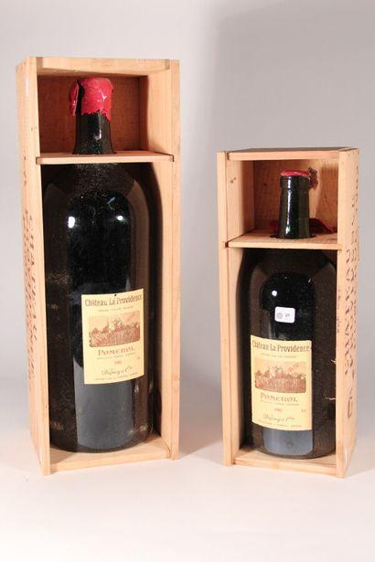 1982 - Château La Providence  Pomerol Rouge...