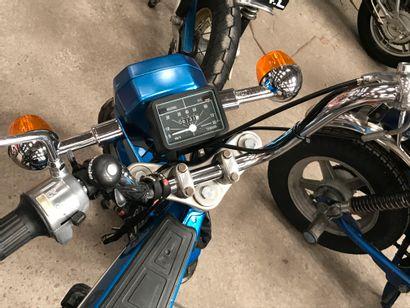 YAMAHA type bop cyclomoteur CL bleu, 2 places du 01/01/1978 n° de série 1V3101050,...