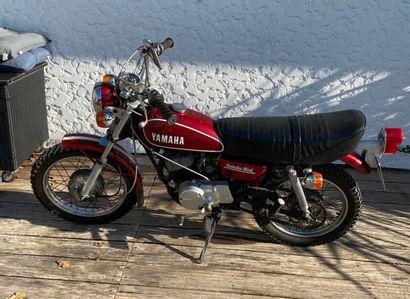 YAMAHA GT 80 type477 moped MTT1 burgundy...