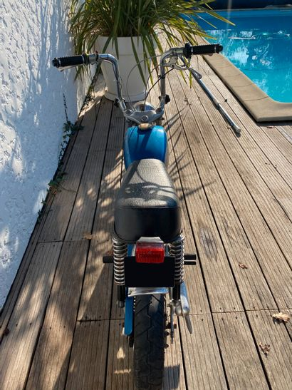 MALAGUTI Motorik type MO cyclomoteur CL gris et bleu, 2 places du 22/05/2014 (erreur...