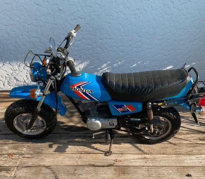 HONDA CY 80 type HB01 moped MTT1 blue, 2...