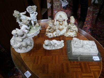 CAPPO DI MONTE  Centre de table en porcelaine...