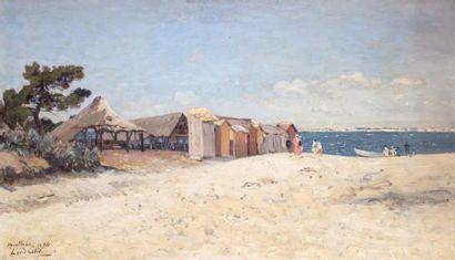 LOUIS-ALEXANDRE CABIÉ (1854-1939)  Le Moulleau,...