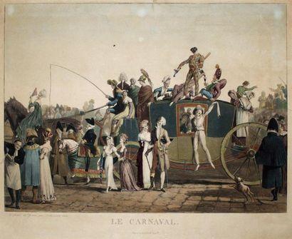 PHILIBERT-LOUIS DEBUCOURT (1755-1832)Le Carnaval...
