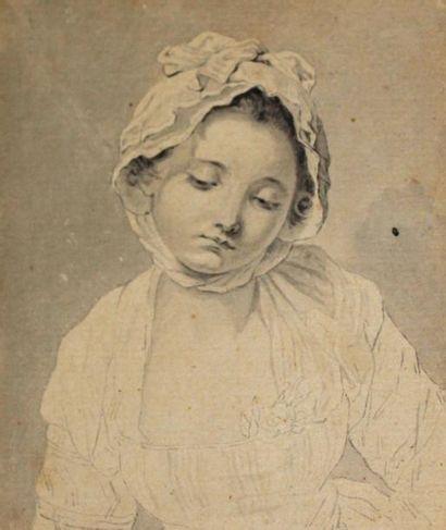 ECOLE FRANÇAISE DU XVIIIème SIÈCLE, D'APRÈS...