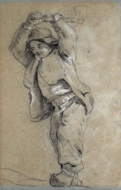 ATTRIBUÉ À PIERRE OZANNE (BREST 1737 - 1813)...